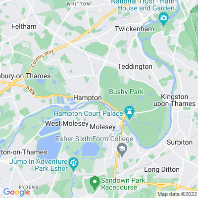 Garrick's Villa Location