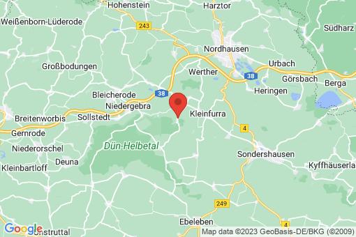 Karte Hainrode