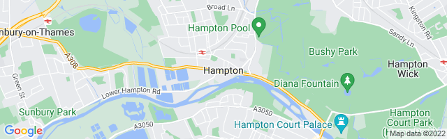 Map Of Hampton