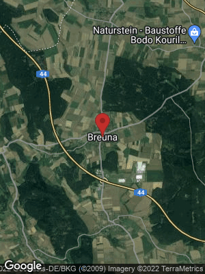 Google Map of Breuna