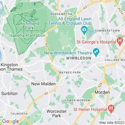 Atkinson Morley Hospital Grounds Location
