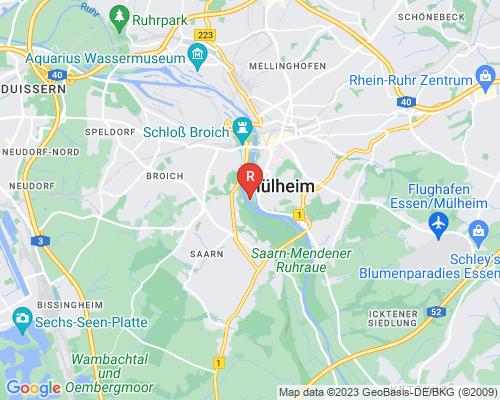 Google Karte von Rohrreinigung Mülheim