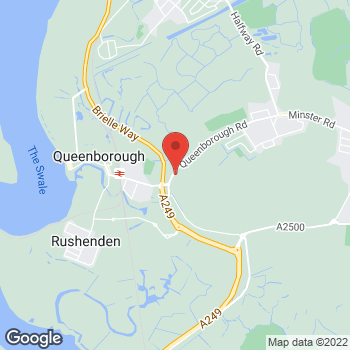 Map of Welcome Queenborough, Queenborough Road at 265-269 Queenborough Road, Isle of Sheppey, Kent ME12 3EW