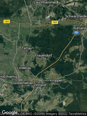 Google Map of Frauendorf