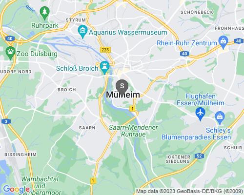 Google Karte von Schlüsseldienst Mühlheim