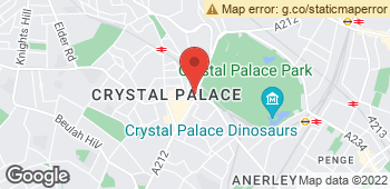 Map of Park Florist at 18-20 Crystal Palace Parade, London, Inner London SE19 1UA