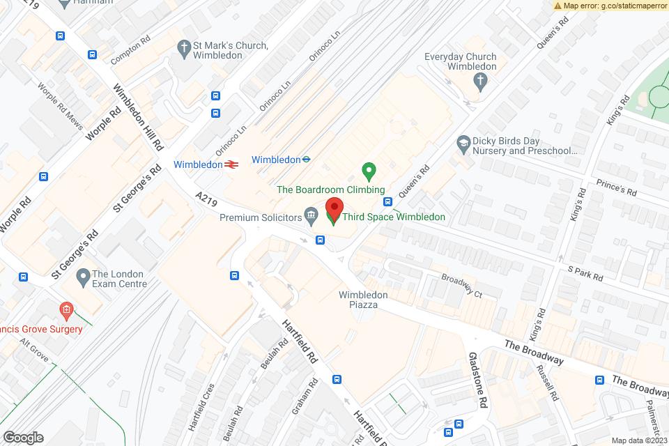 Unit 302 Centre Court, Wimbledon, SW19 8YE map