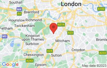 Map of Wimbledon