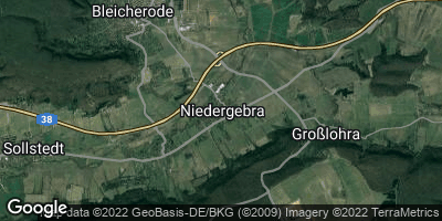 Google Map of Niedergebra