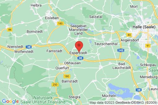 Karte Esperstedt