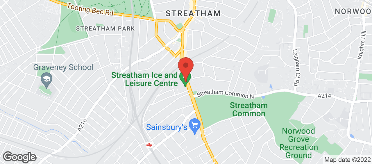 Streatham Ice and Leisure Centre location and directions