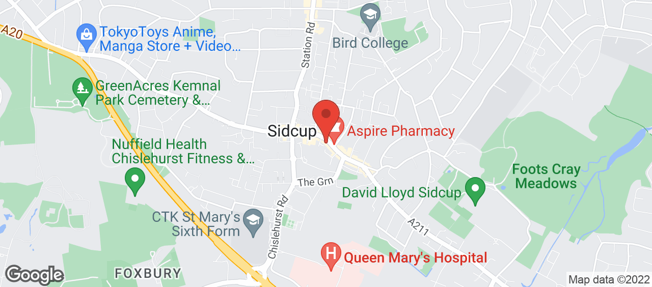 Better Gym Sidcup location and directions