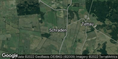 Google Map of Schraden bei Elsterwerda
