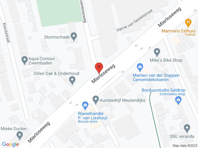 Mierloseweg Geldrop Herinrichting / onderhoud van Kruising (67621)Weg dicht in beide richtingen