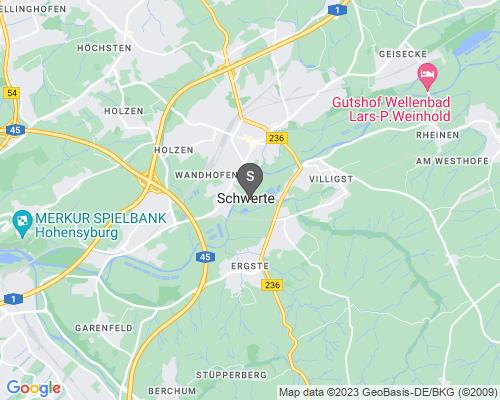 Google Karte von Schlüsseldienst Schwerte