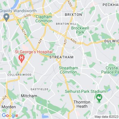 Streatham Green Location