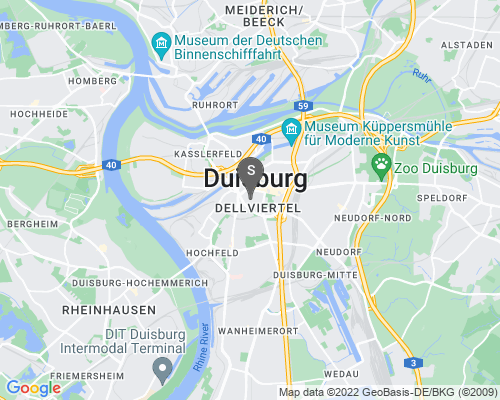 Google Karte von Schlüsseldienst Duisburg