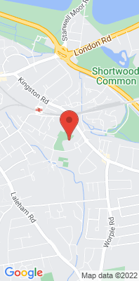 Map showing the location of the Knowle Green Council Offices monitoring site