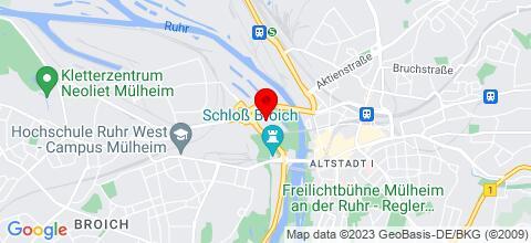 Google Map für Ruhrwohnung