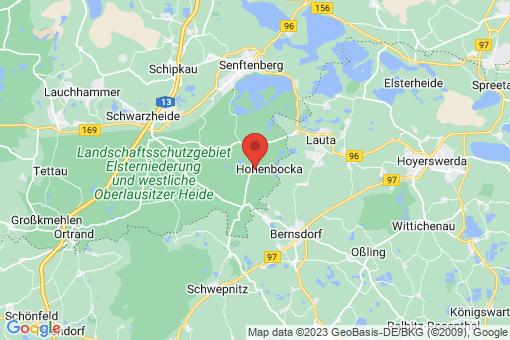 Karte Hohenbocka