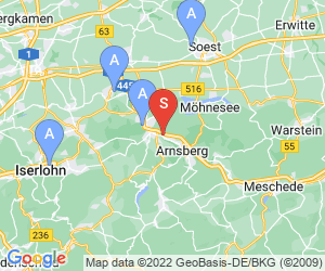 Karte für NASS Arnsberg