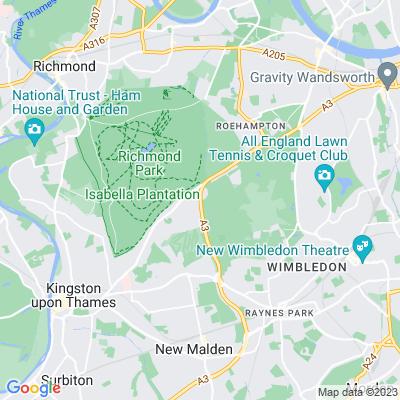 Richmond Park Location
