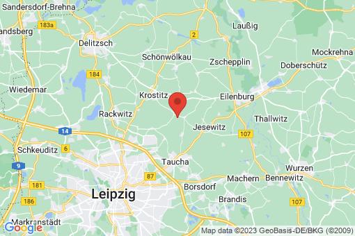 Karte Jesewitz