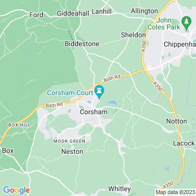 Corsham Court Location