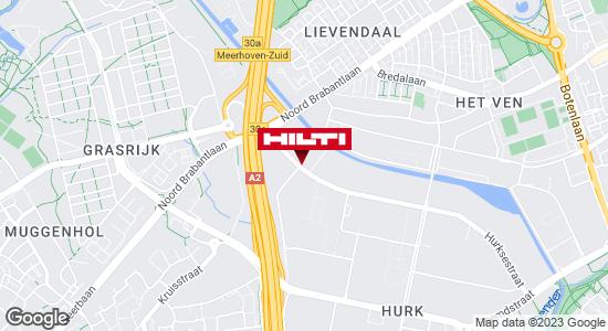 Krijg een routebeschrijving naar Hilti Store Eindhoven