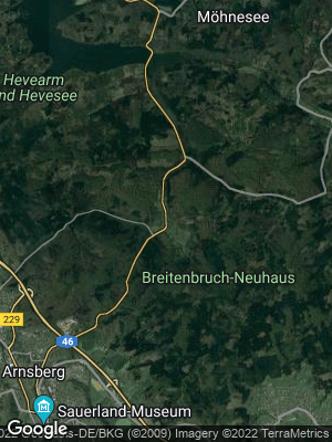 Google Map of Breitenbruch