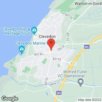Map of Welcome Clevedon, Old Street at 8, 8a Old Street, Clevedon, North Somerset BS21 6ND