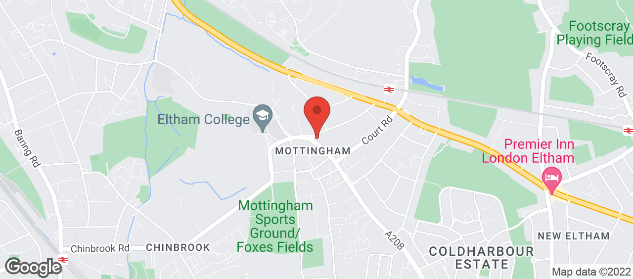Mottingham Library location and directions