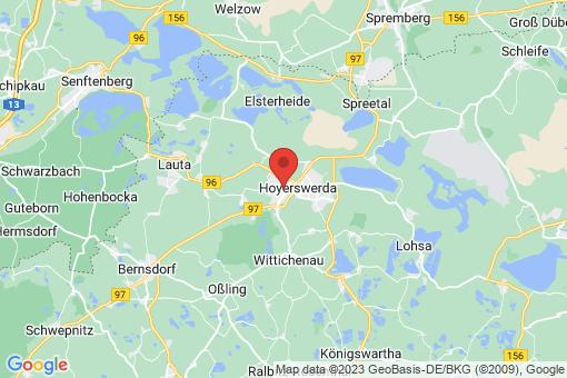 Karte Hoyerswerda