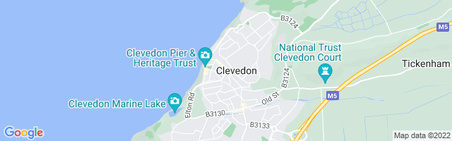 Map Of Clevedon
