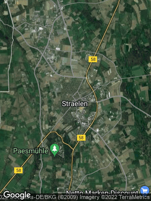Google Map of Straelen