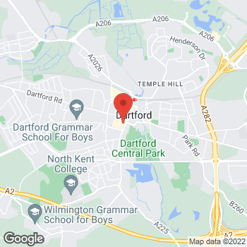 Map of wilko Dartford at Unit 7, Dartford, Kent DA1 2HS