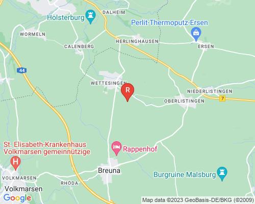 Google Karte von Rohrreinigung Breuna
