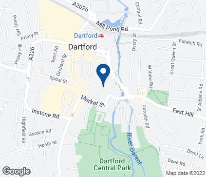Map of 48-52 High Street in Dartford
