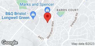 B&Q Warehouse Longwell Green location