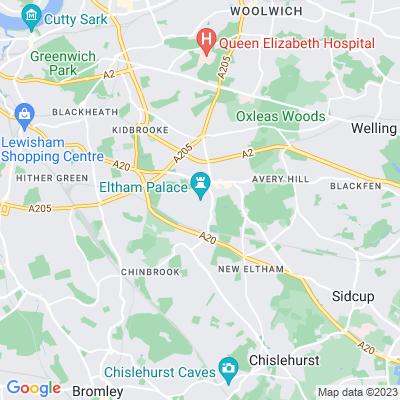 Eltham Palace, Greenwich Location