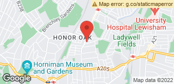 Map of The Holly Tree at 74 Brockley Rise, London, Inner London SE23 1LN