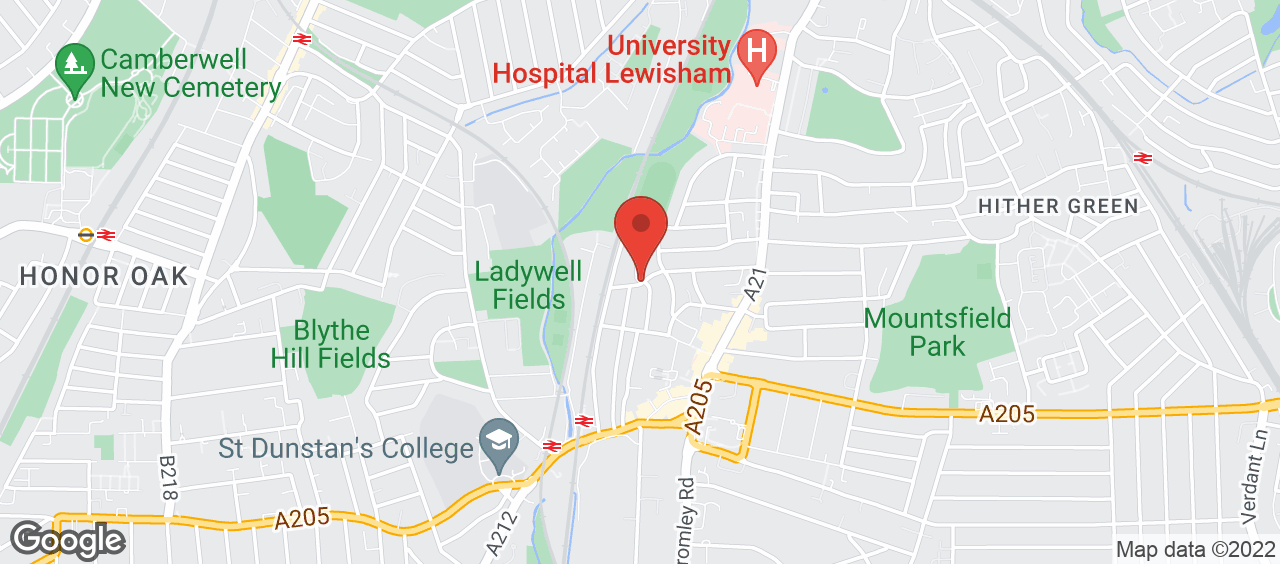 Ladywell Arena location and directions