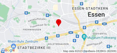 Google Map für Top Monteurwohnung und Ferienwohnung Essen