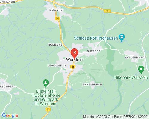 Google Karte von Rohrreinigung Warstein