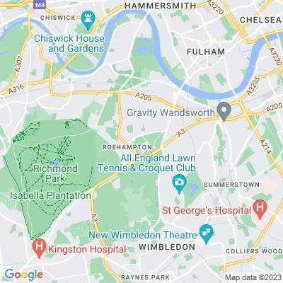 Putney Heath Location