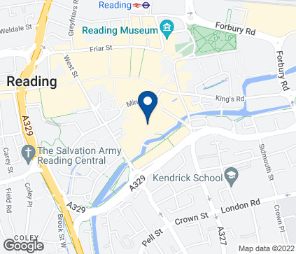 Map of 5 Upper Ground Level in Reading