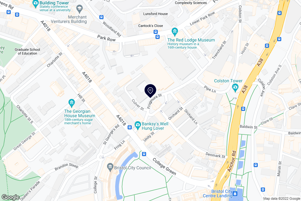 1 Frogmore St, Bristol, BS1 5NA map