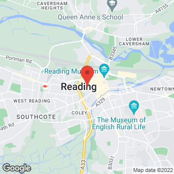 Map of wilko Reading at Units 124-135, Reading,  RG1 7QE