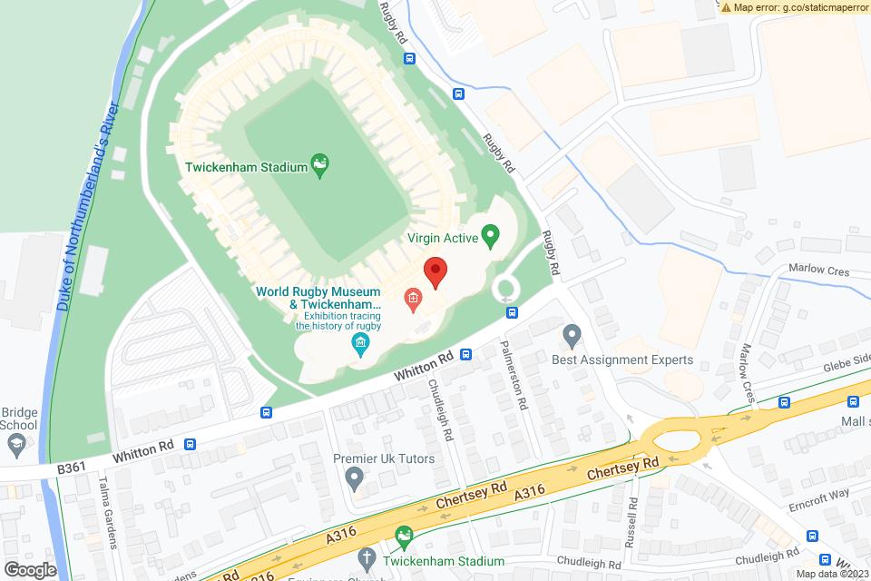 Twickenham Stadium, Twickenham, TW2 7BA map