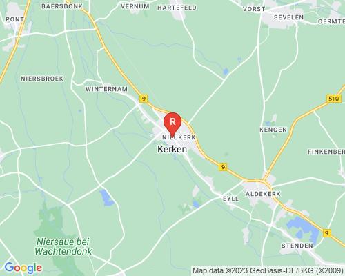 Google Karte von Rohrreinigung Kerken